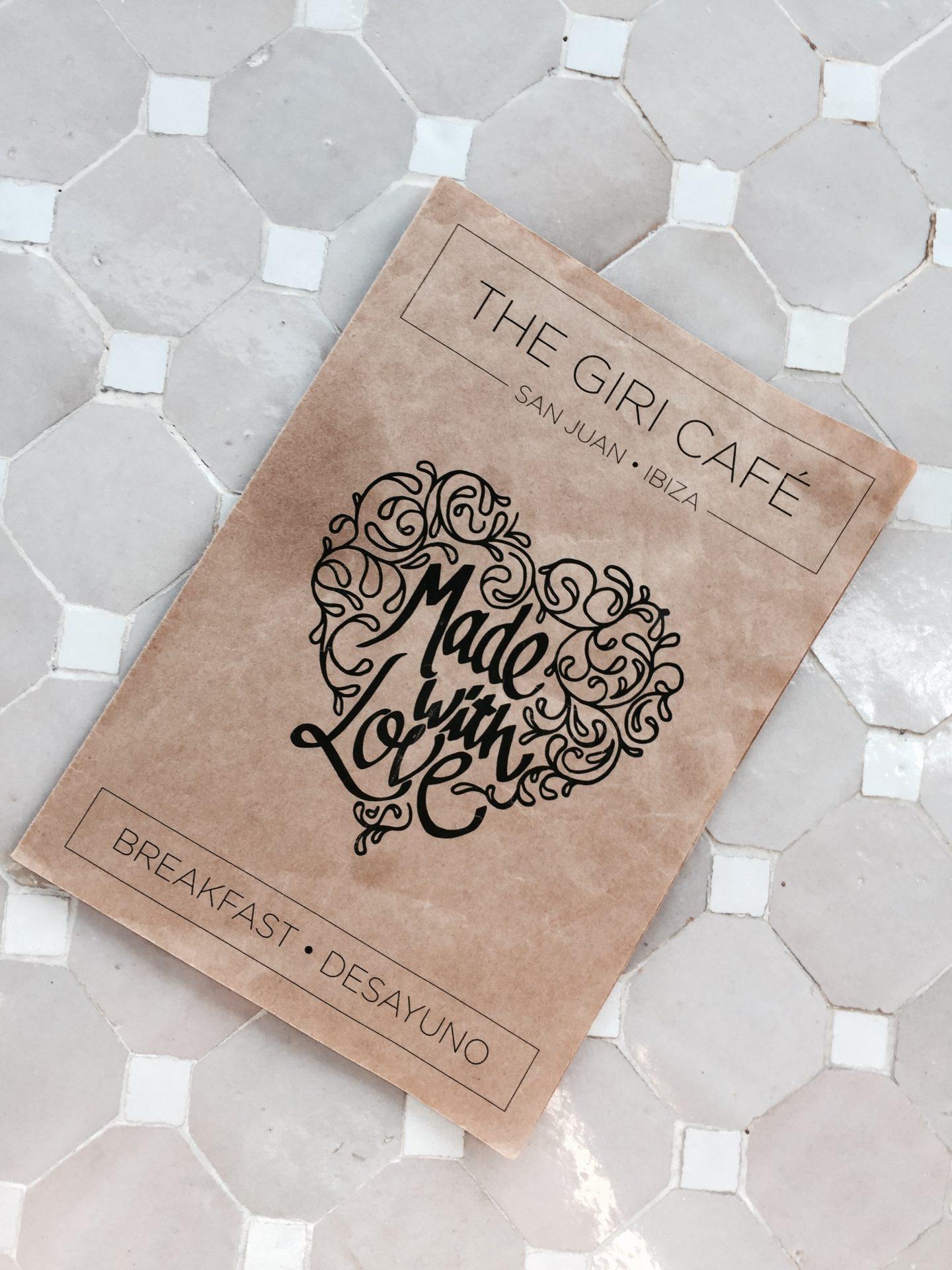 THE GIRI CAFE – best breakfast in Ibiza