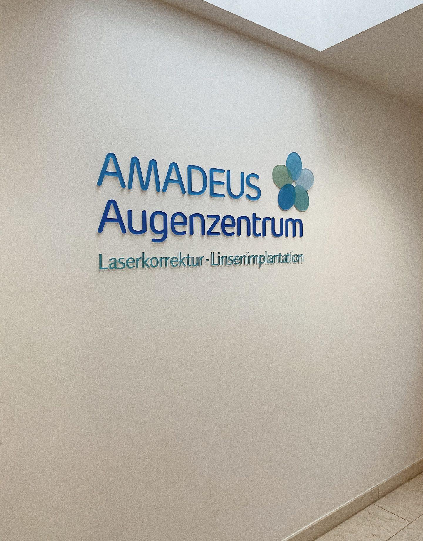 Carina Köberl im Amadeus Augenzentrum